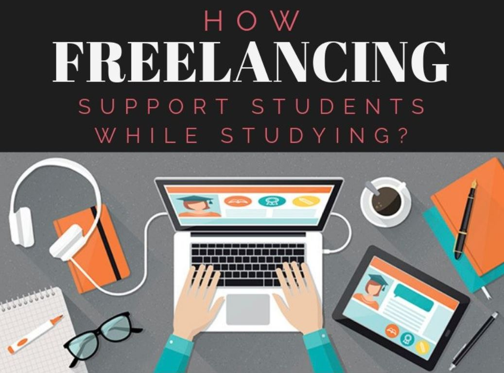 How Freelancing Support Students while studying?
