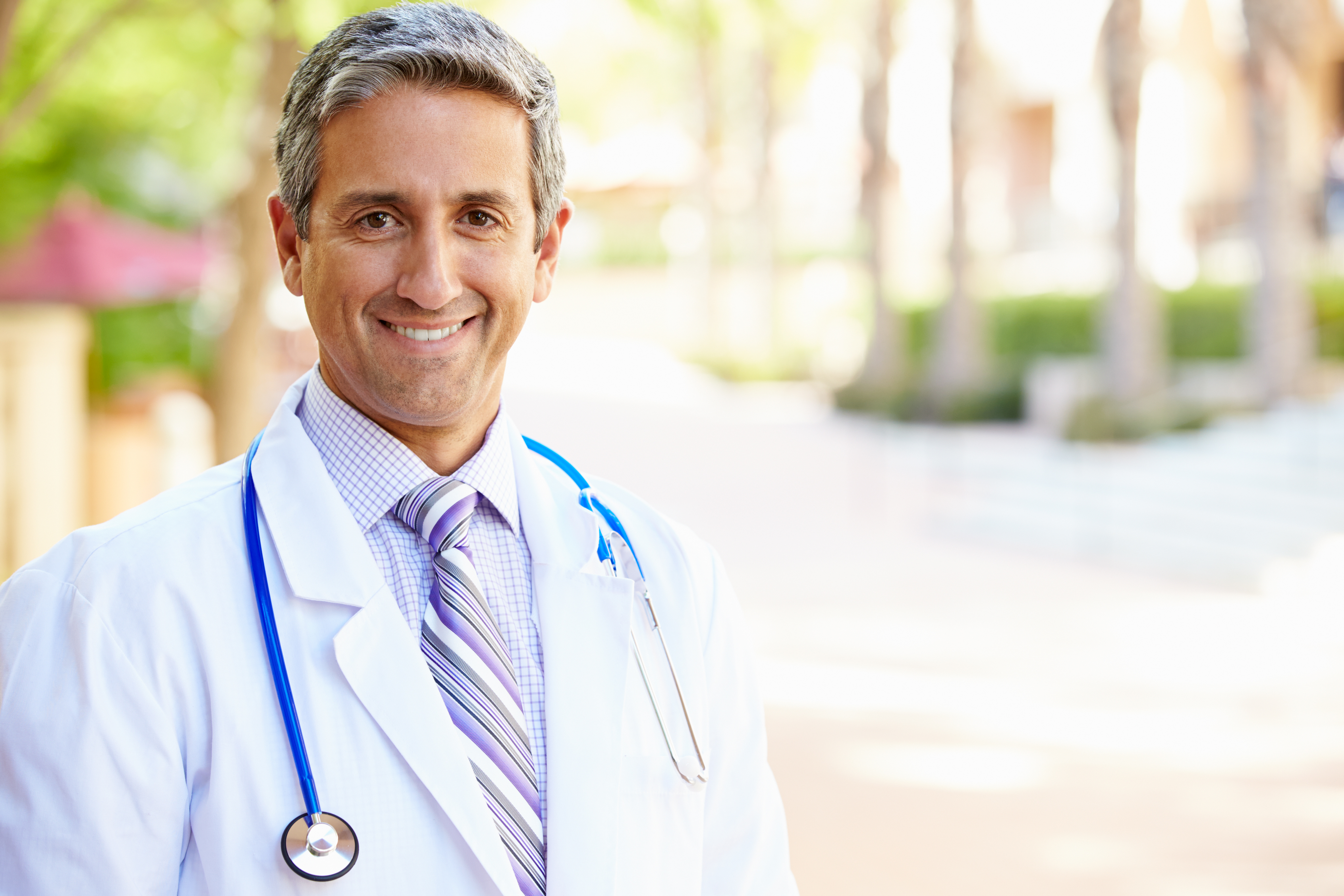 Outdoor Portrait Male Doctor