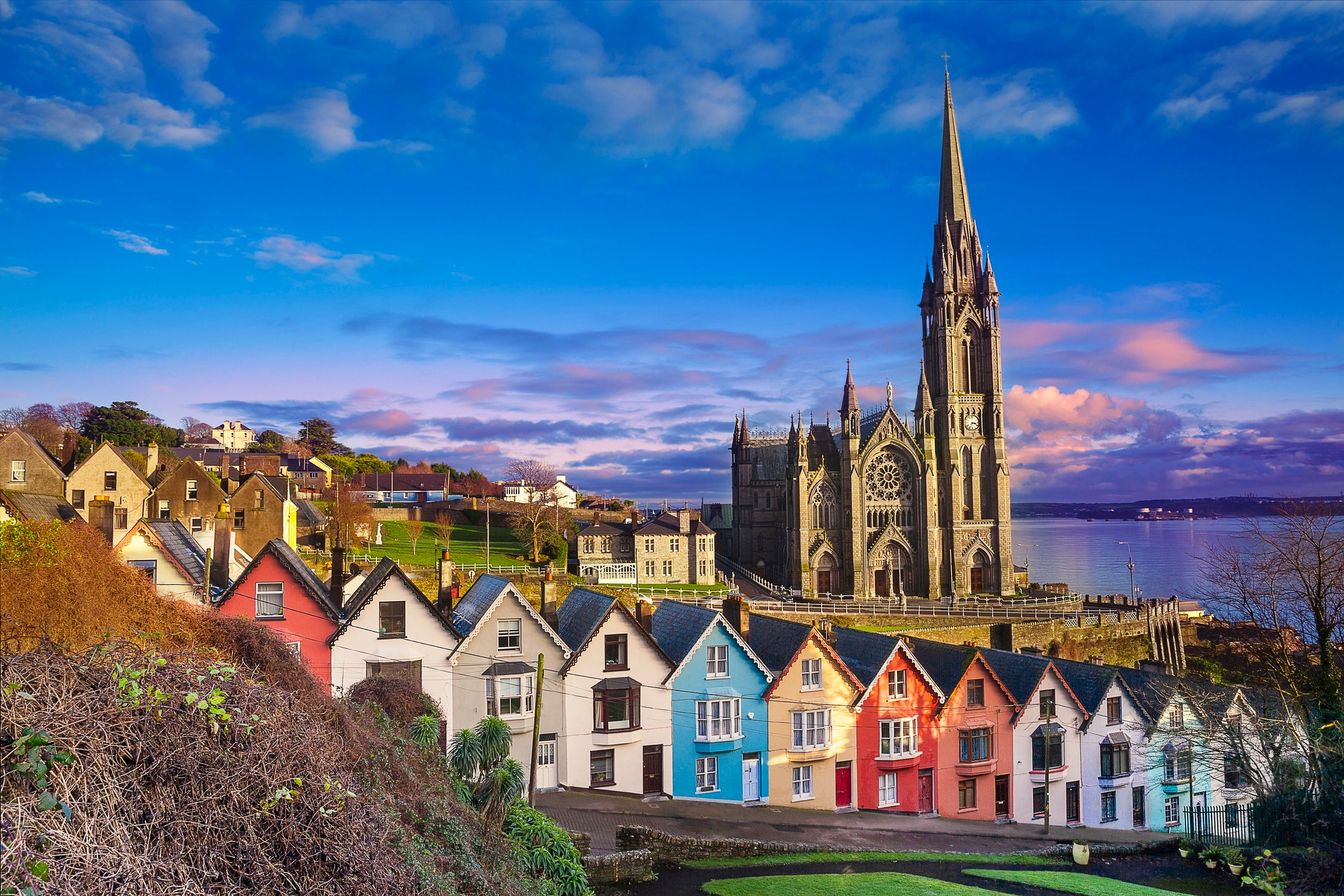 Photo of Cobh, Ireland: iStock from Getty images Credit Ben Stevens: istockphoto.com ID:641736118