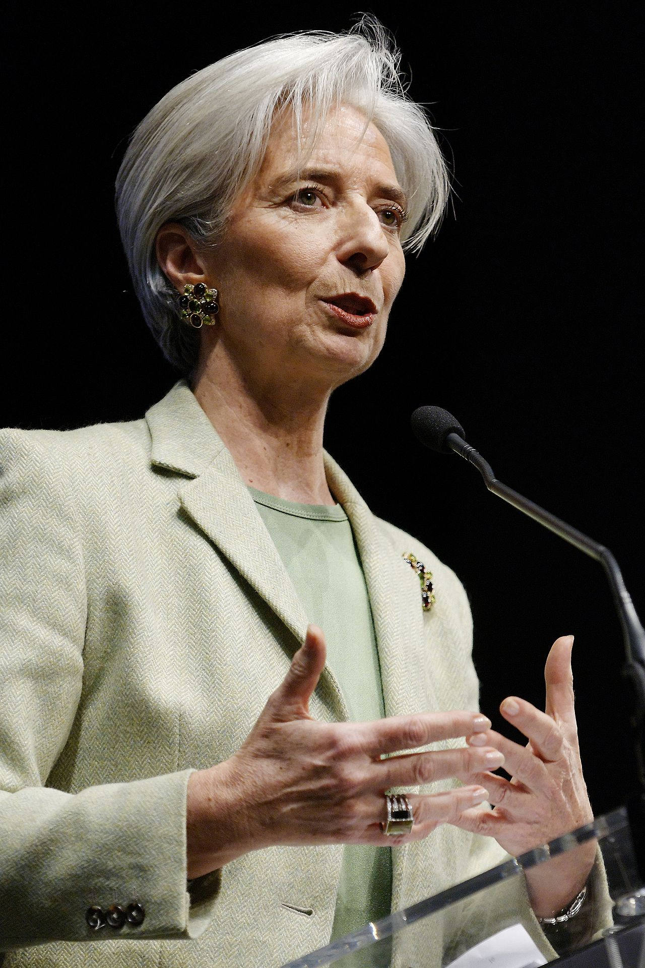 Christine Lagarde Former Managing Director of IMF