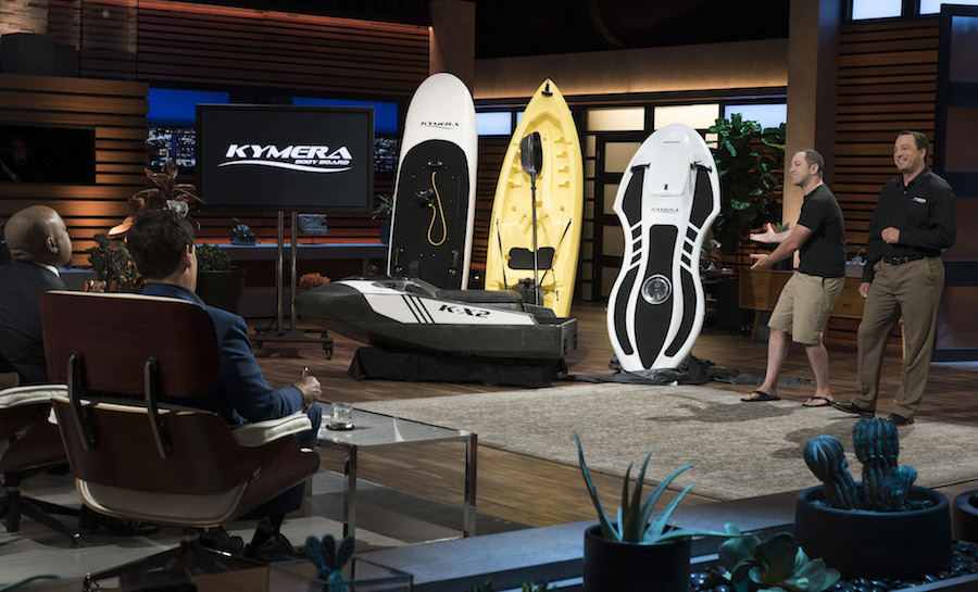 """SHARK TANK - """"1020"""" - Body-board entrepreneur wins sweet redemption after failure of 'worst pitch ever'"""