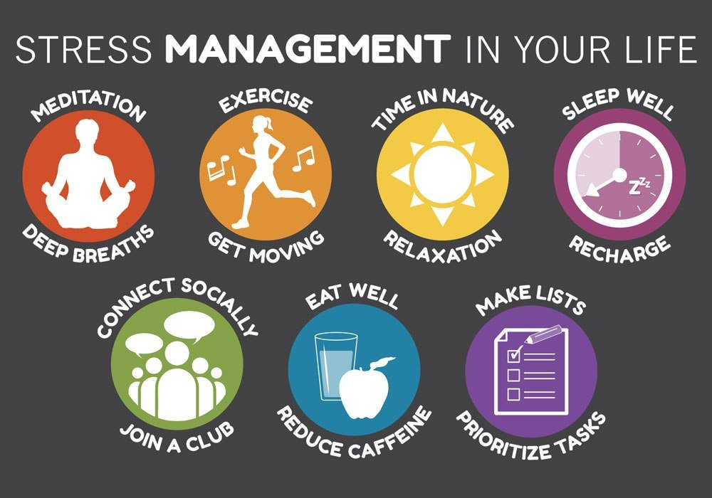 Simple yet efficient stress management tips