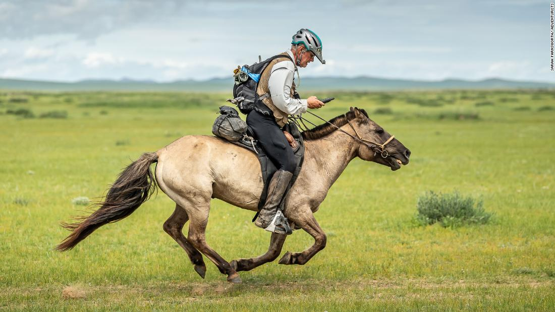 Bob Long, 70, becomes the oldest-ever winner of the Mongol Derby, the world's longest horse race (August 2019)