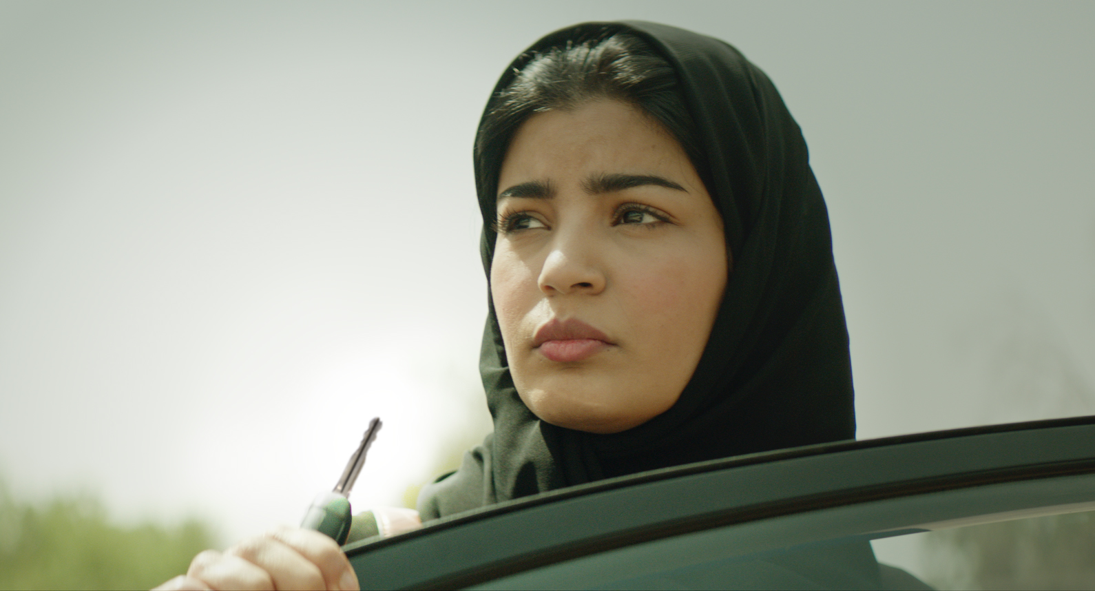 Mila Alzharani in Haifaa al-Mansour's 'The Perfect Candidate' -- photo courtesy of Razor Film, Al-Mansour's Establishment