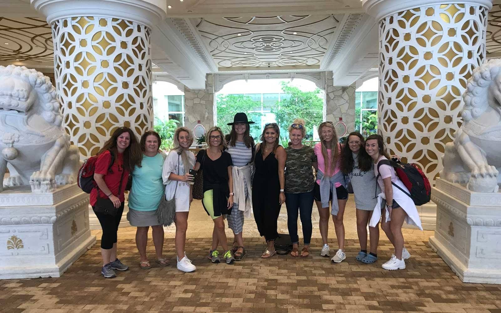 This Woman's Bachelorette Party Will Inspire You to Dig Deep and Give Back When Things Don't Go Your Way