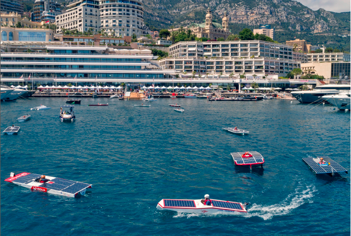 From the Yacht Club de Monaco
