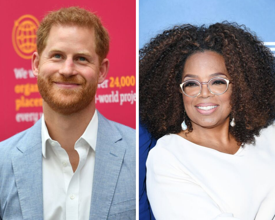 Prince Harry and Oprah's New TV Series Could Change the Way We View Mental Health at Work