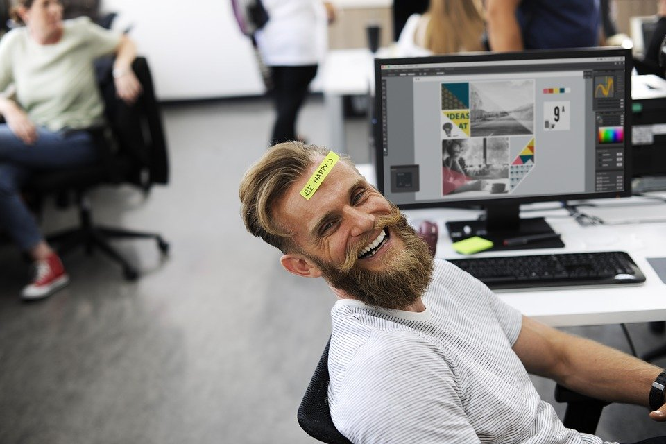 how smile can help you in your office