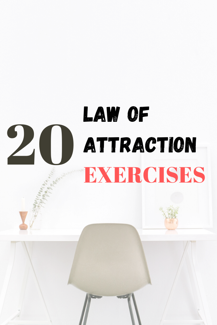 law of attraction exercise