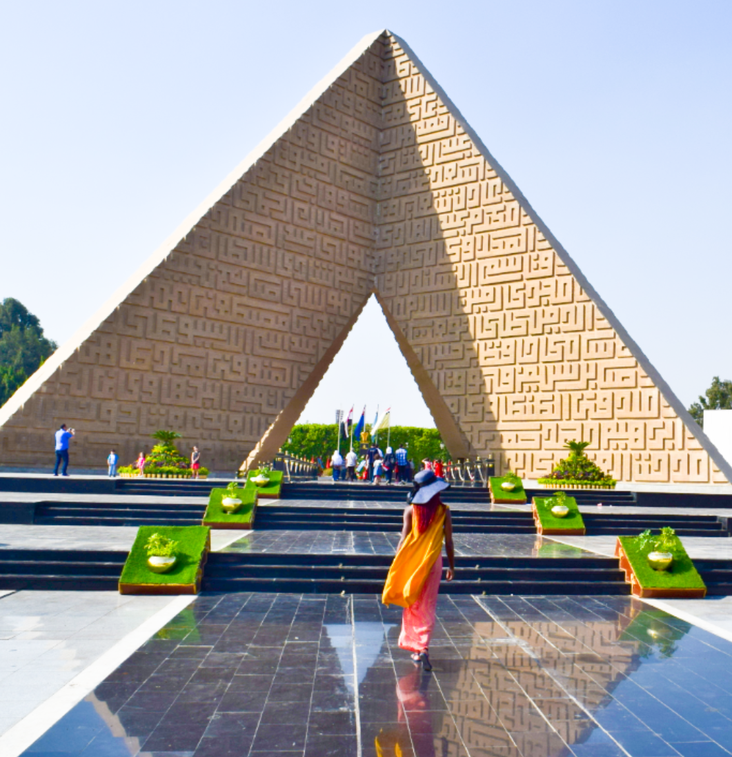 (Photo credit: Ceola Oware.The Unknown Soldier Memorial, Egypt.)