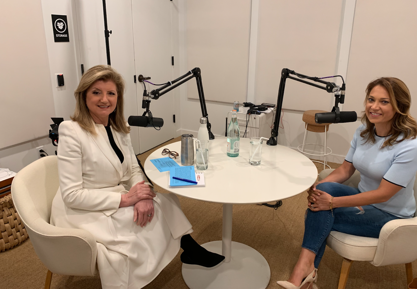 The Thrive Global Podcast: Season 3, Episode 7 with Ginger Zee