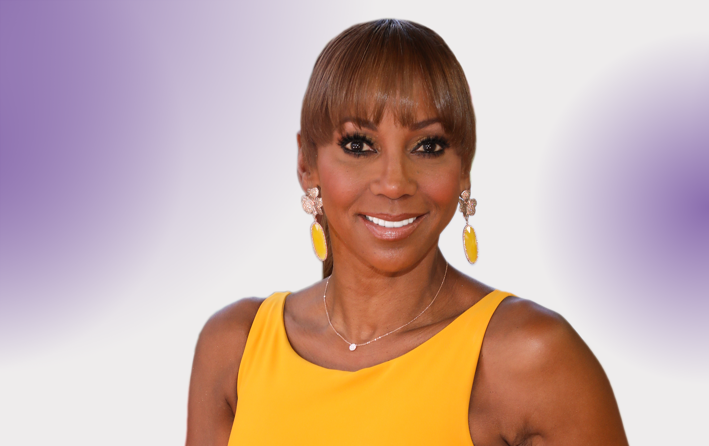 How Actress Holly Robinson Peete Slays the Dragons of Her Mind