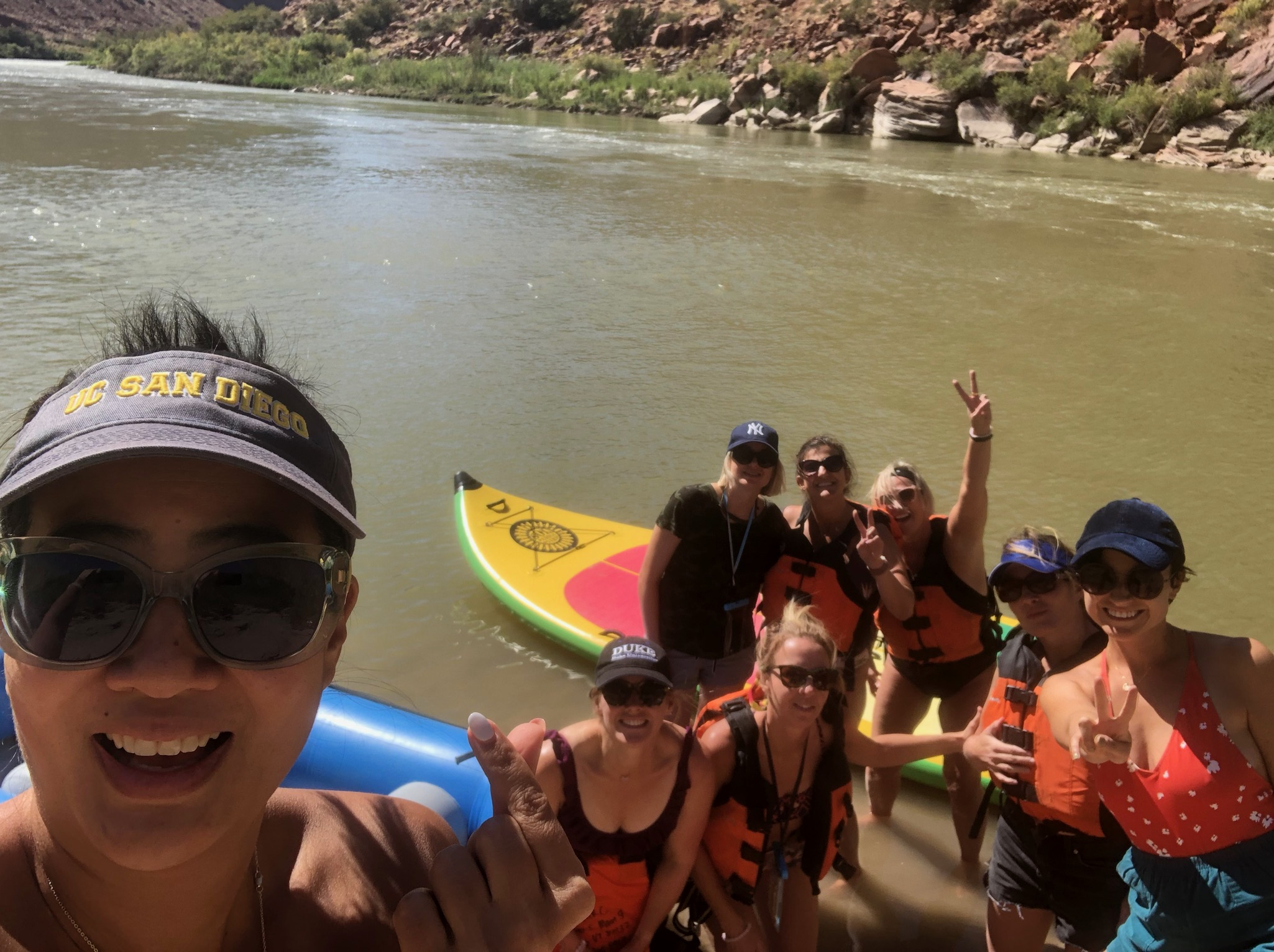 Braving the River WITH this amazing Sisterhood | Moab, Utah | October 2019