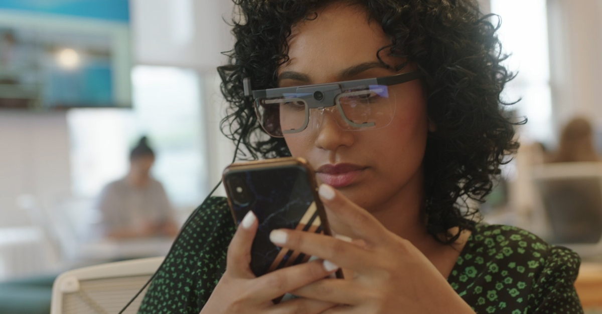 I Tried Wearing Eye-Tracking Glasses and Here's What I Learned About My Screen-Time