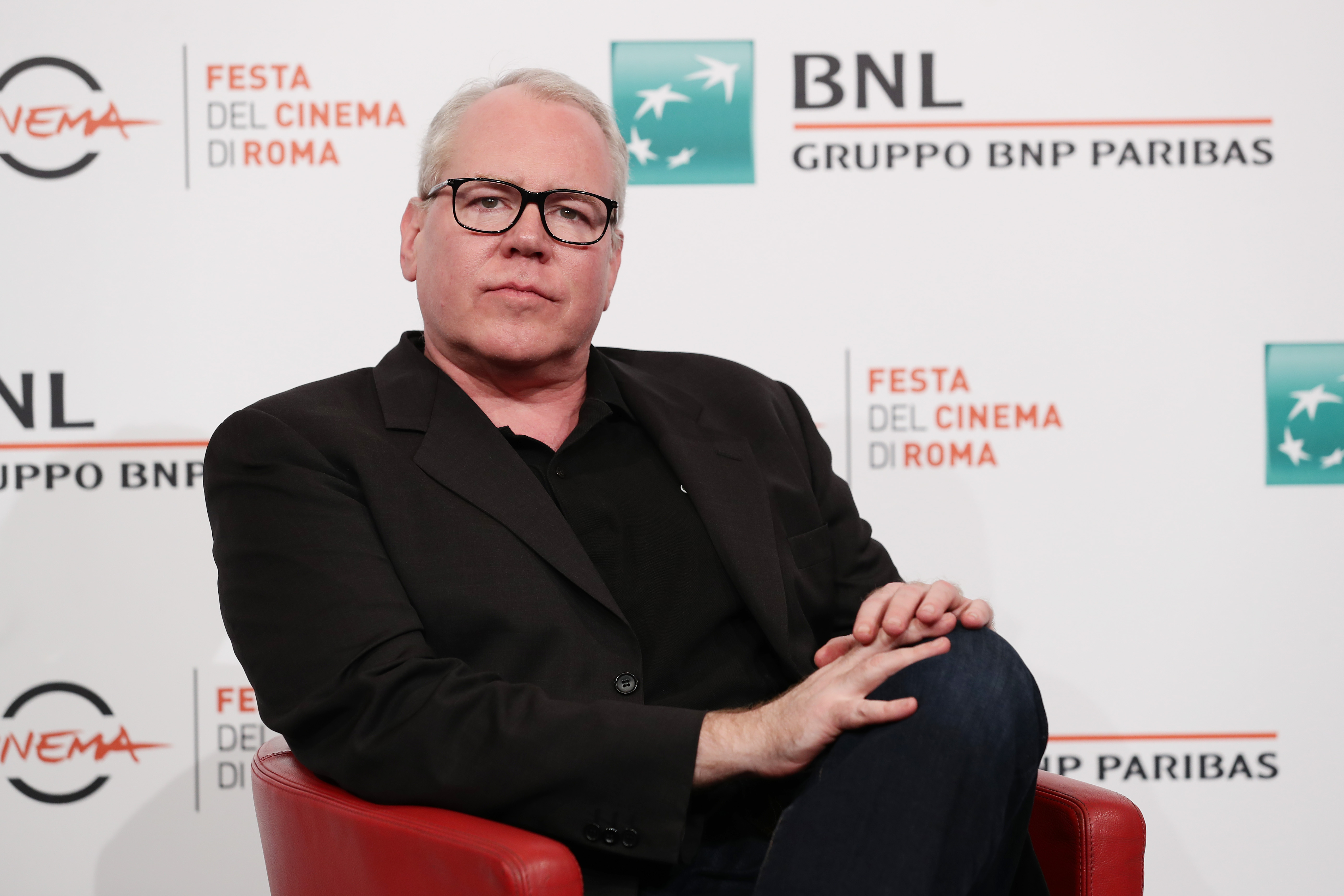 Bret Easton Ellis during the 14th Rome Film Festival on October 20, 2019 in Rome, Italy. (Photo by Vittorio Zunino Celotto/Getty Images for RFF)