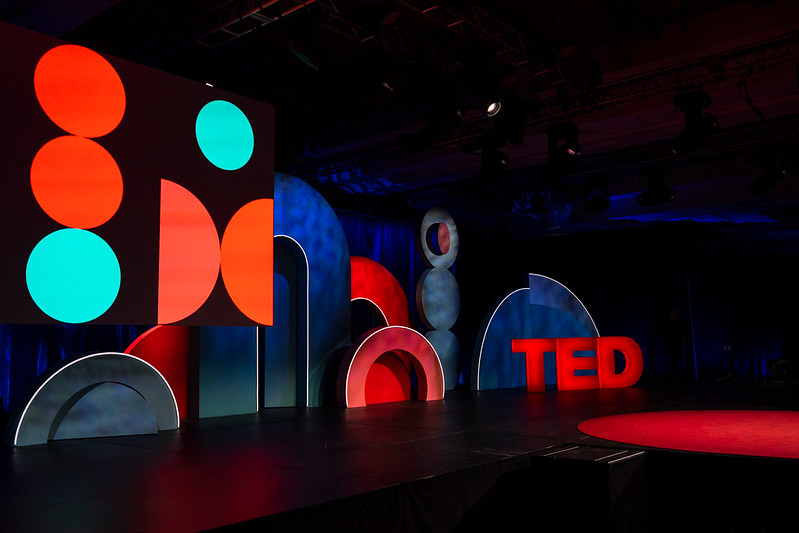 The TEDWomen Stage