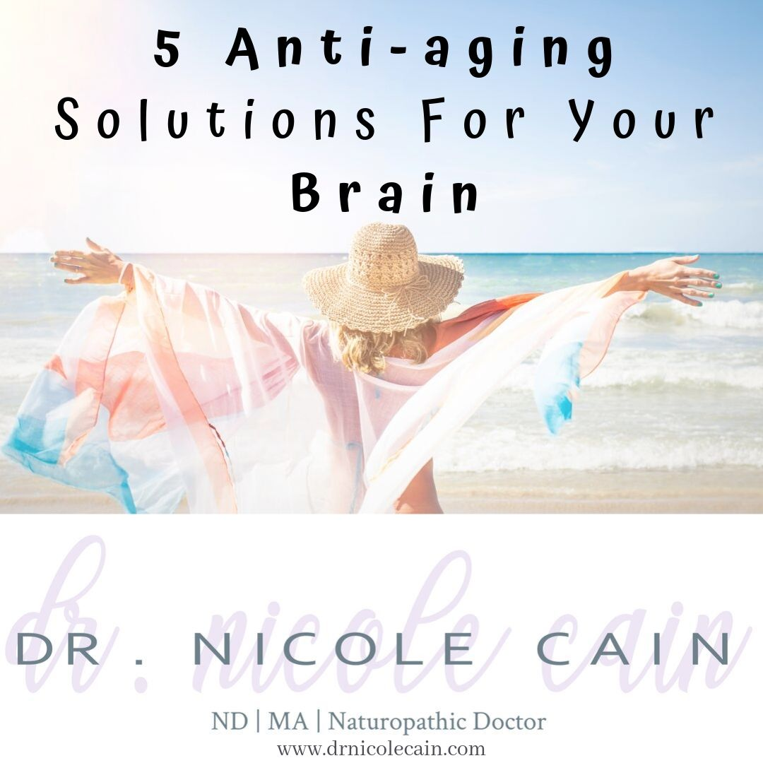 Anti-Aging Solution For Your Brain