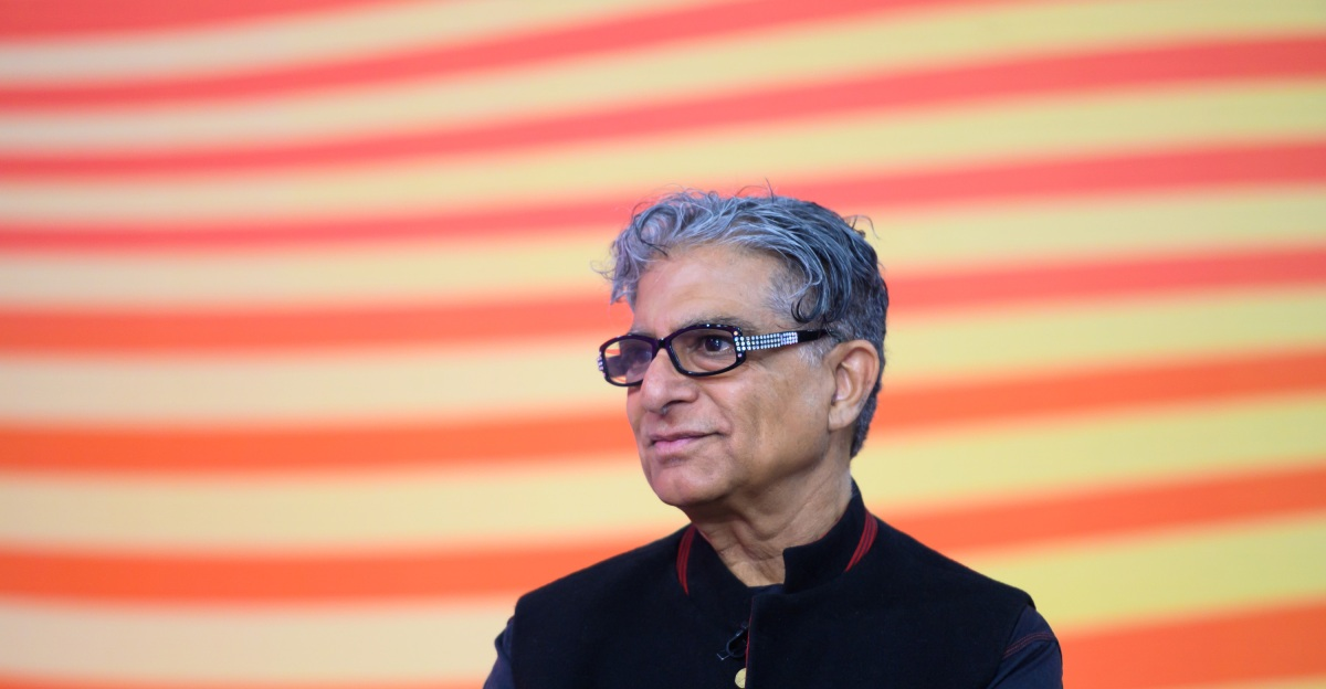 Deepak Chopra Wants Us All to Take Risks