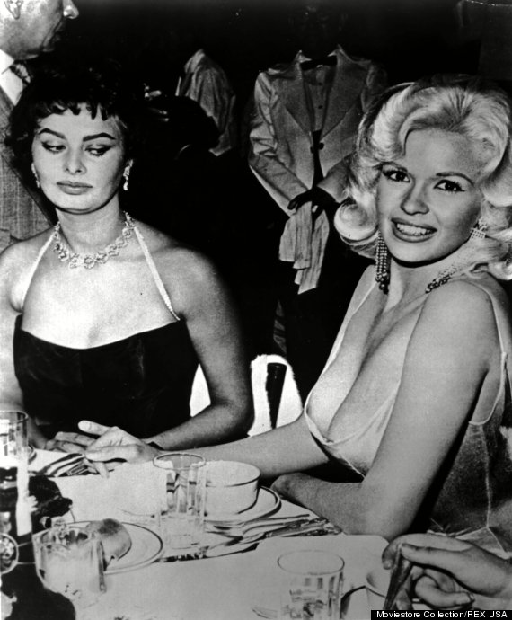 Photo by Moviestore Collection/Rex/REX USA (939453a) Jayne Mansfield ,  Jayne Mansfield,  Sophia Loren Film and Television