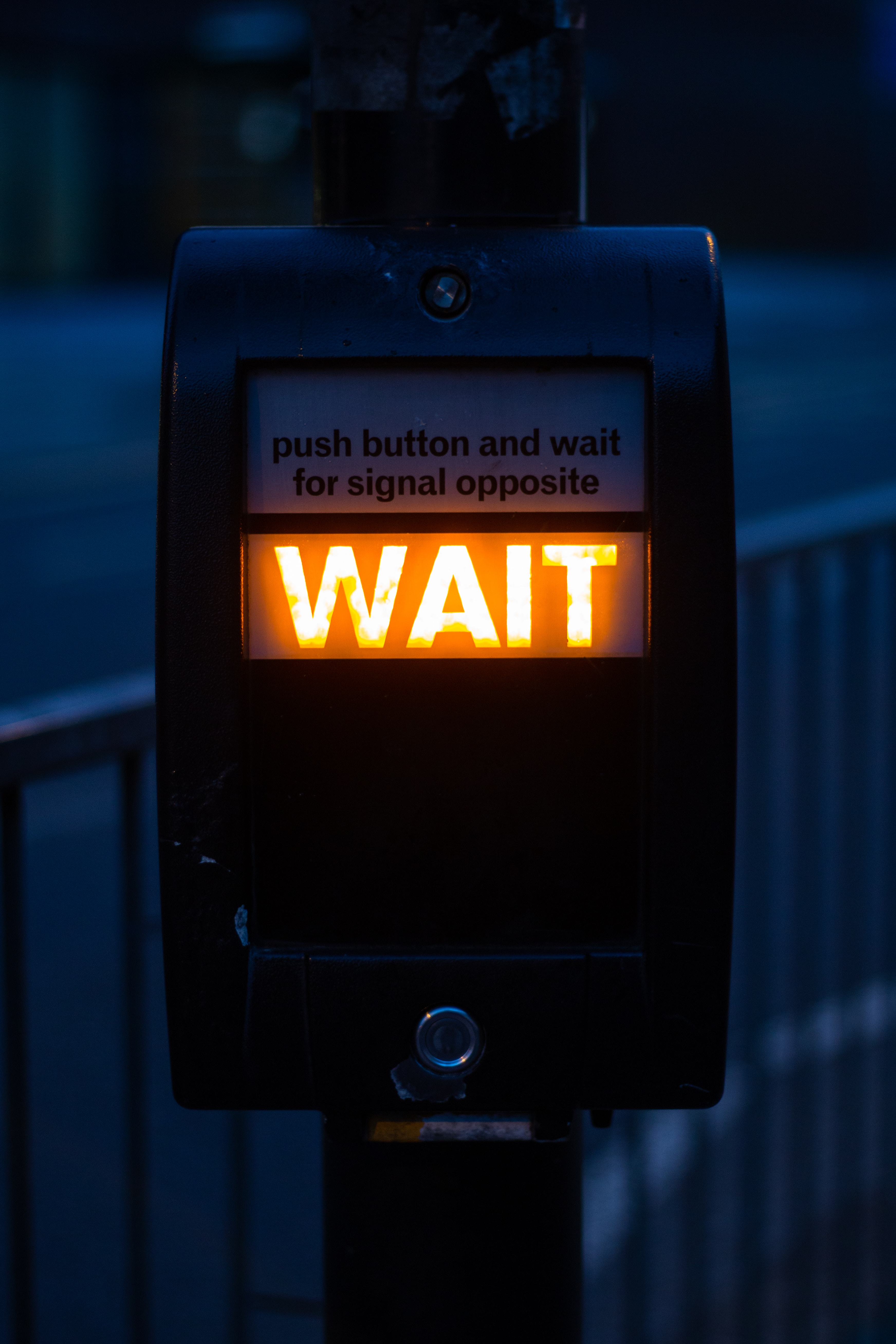 The acronym WAIT will make you more resilient. Photo by Xu Haiwei on Unsplash
