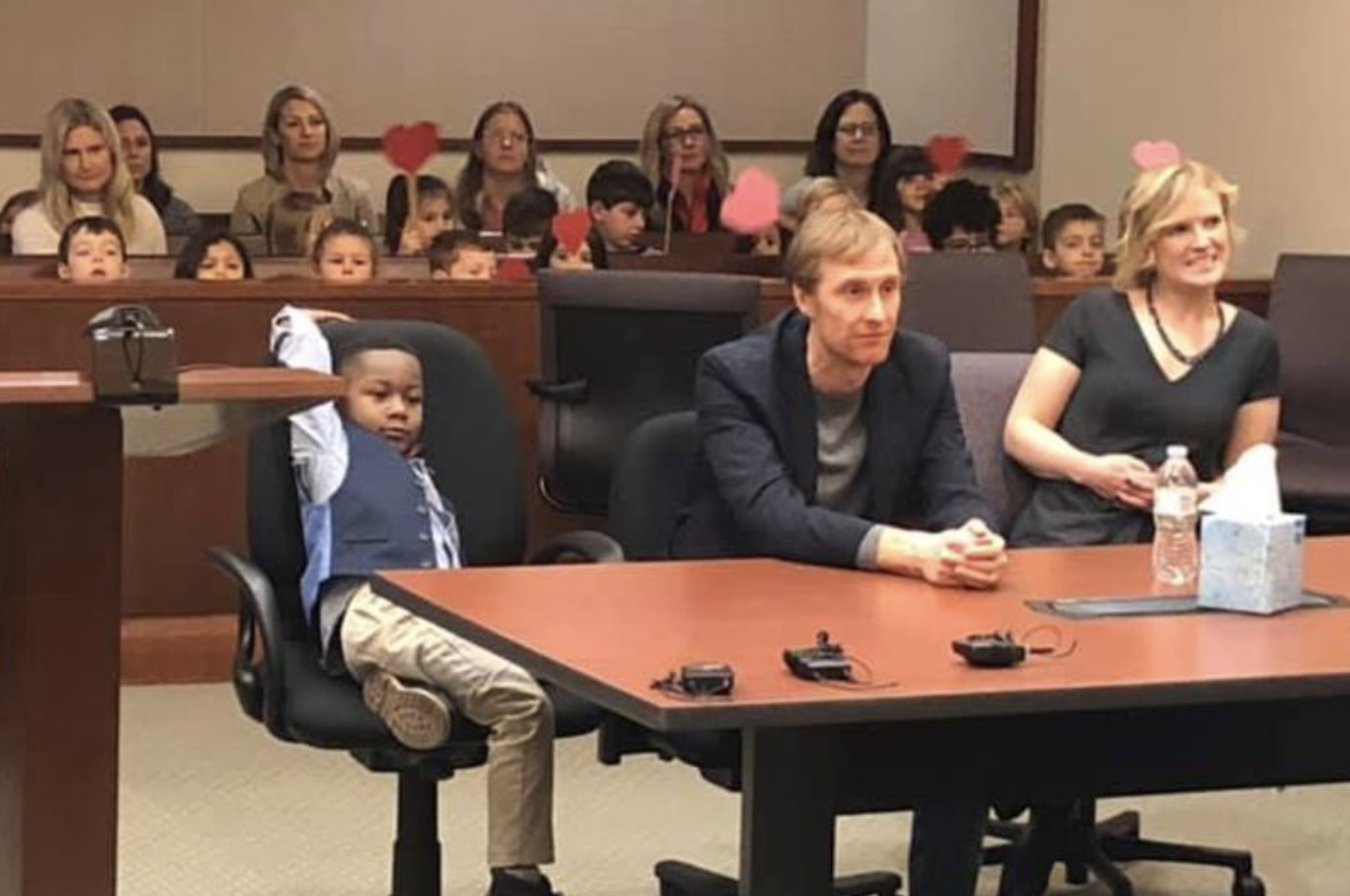 Watch This Heartwarming Video of an Entire Kindergarten Class Supporting Their Friend's Adoption