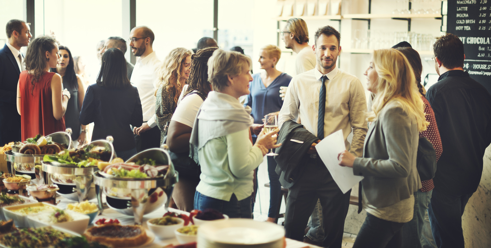 The Right Way to Network at Your Company Holiday Party