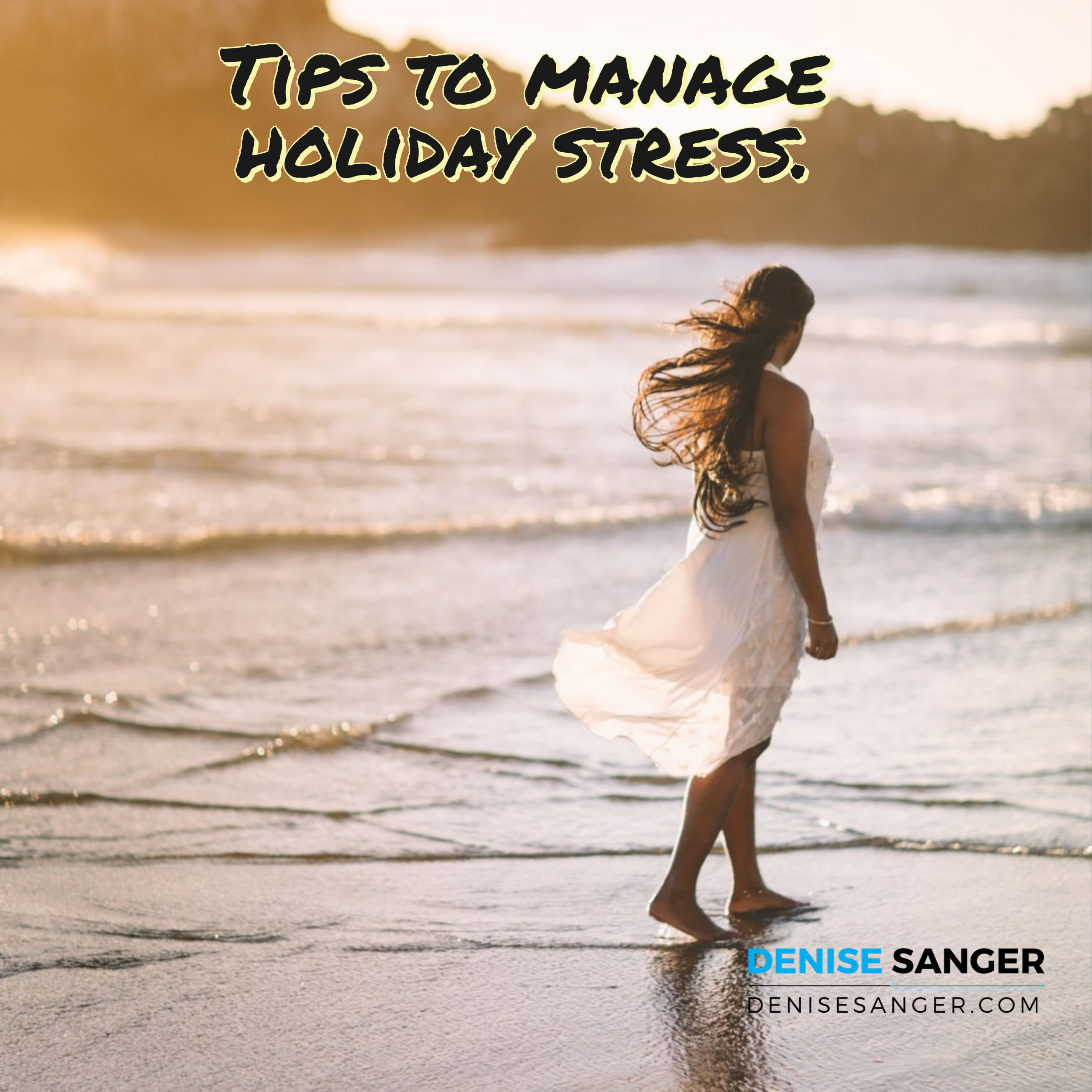 Tips to manage holiday stress