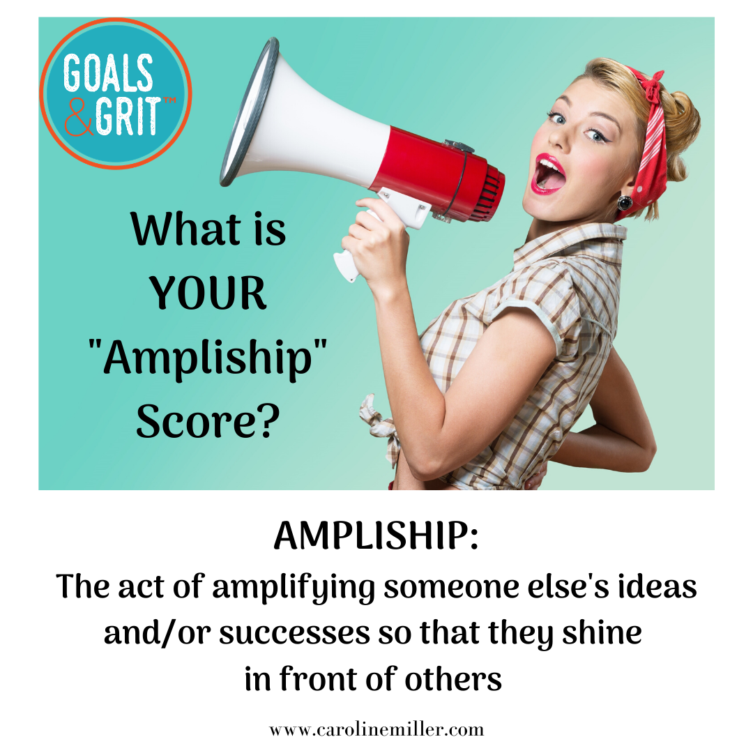 Try amplifying other people's success this year to boost your own creativity, happiness and circle of support.