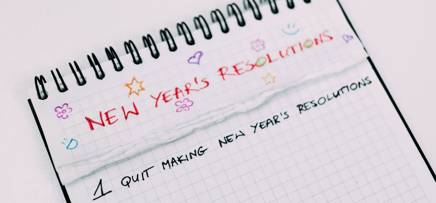 New Year Resolutions back on track