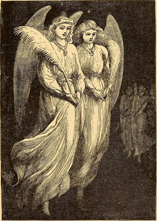 Angels and love on Valentine's Day.