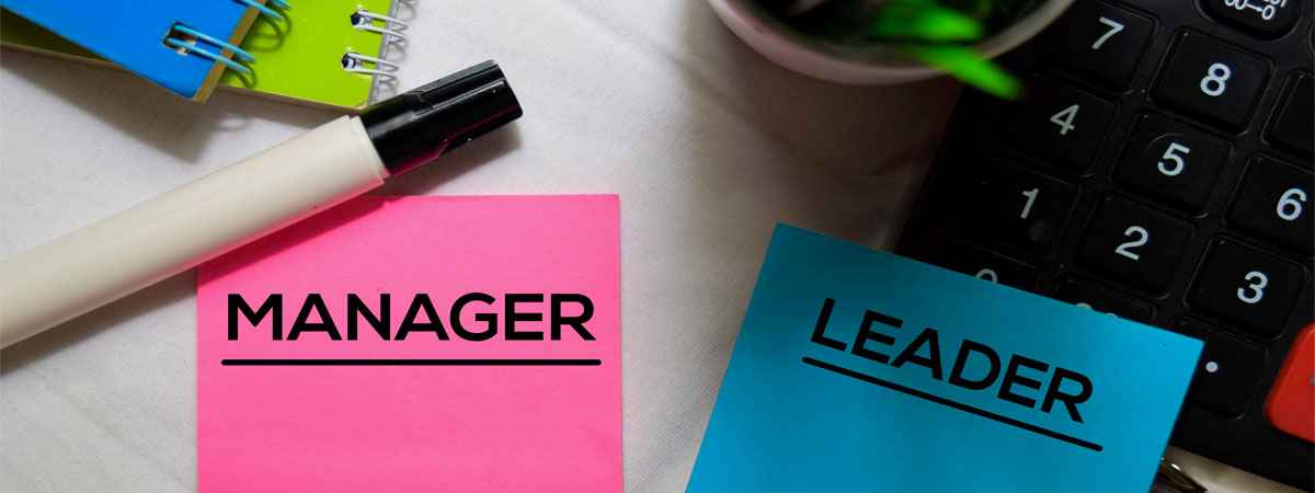 manager leader sticky notes