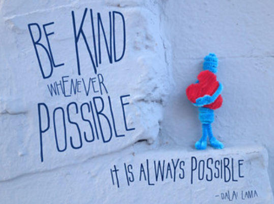 Image Credits: Be Kind Wherever Possible by Lorie Shaull on Flickr (CC BY-SA 2.0)