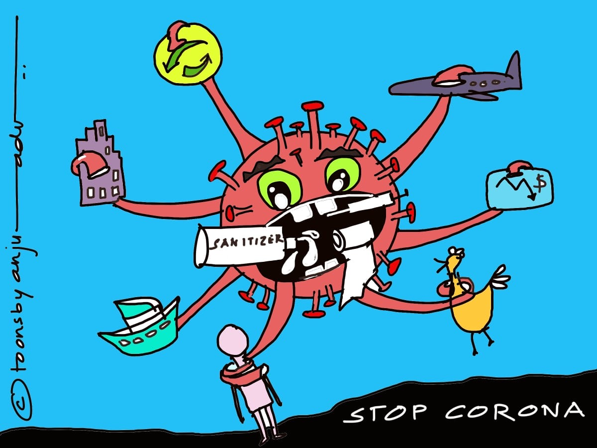 """Stop Corona Virus!"" by Dr. Anju Dave Vaish 