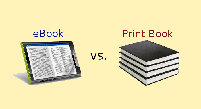 Ebooks and Printed Books