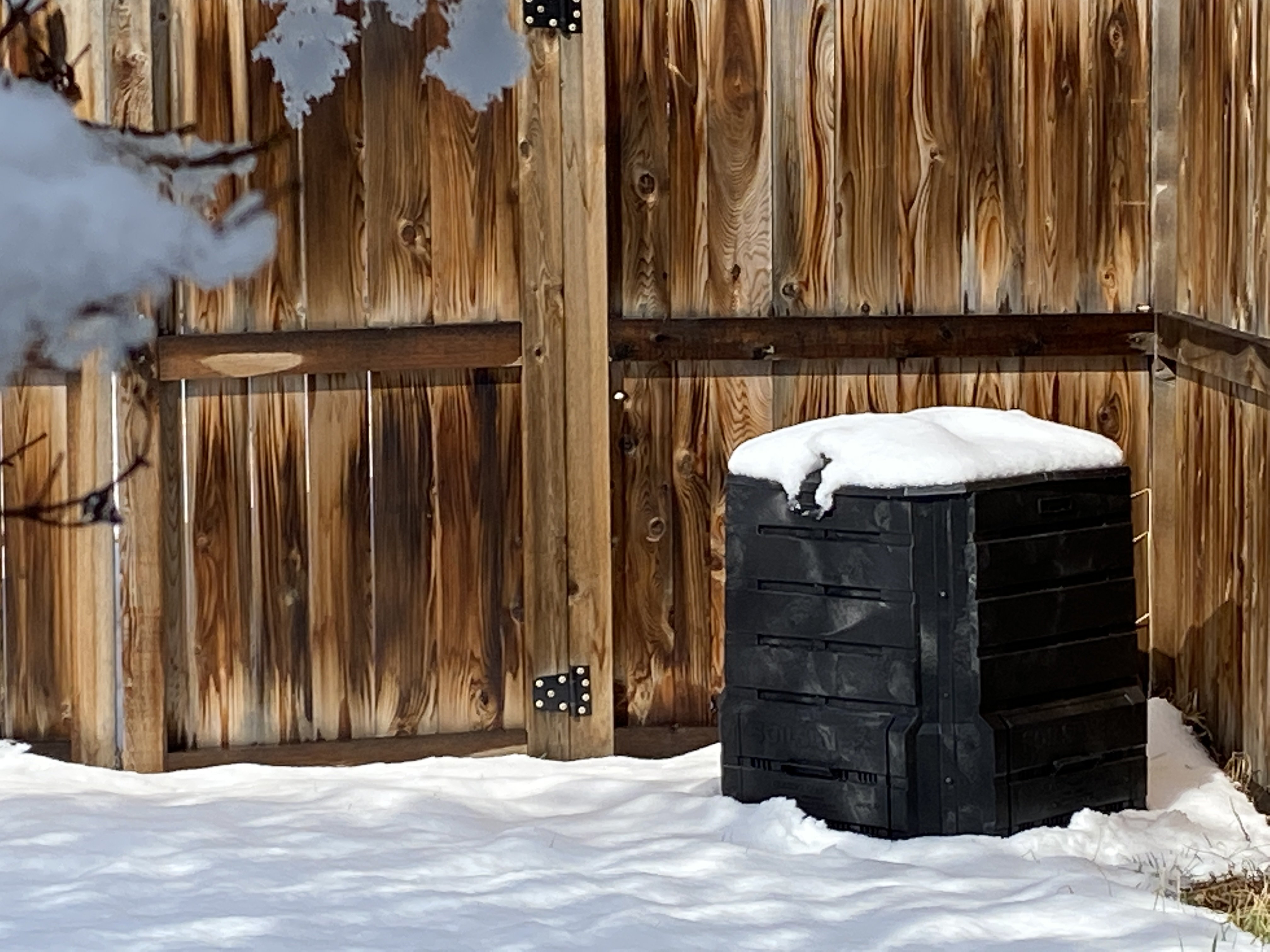 Backyard Composter in Montana.