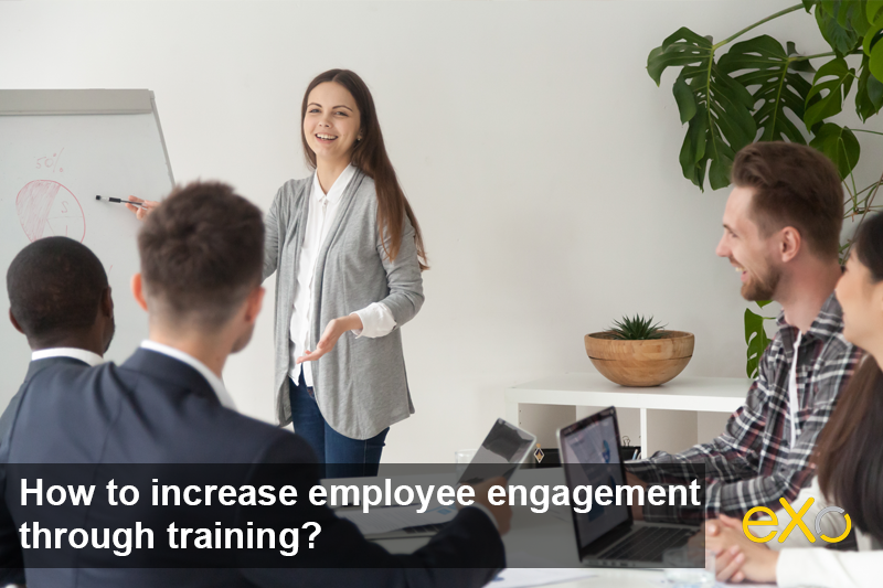 How to increase employee engagement through training