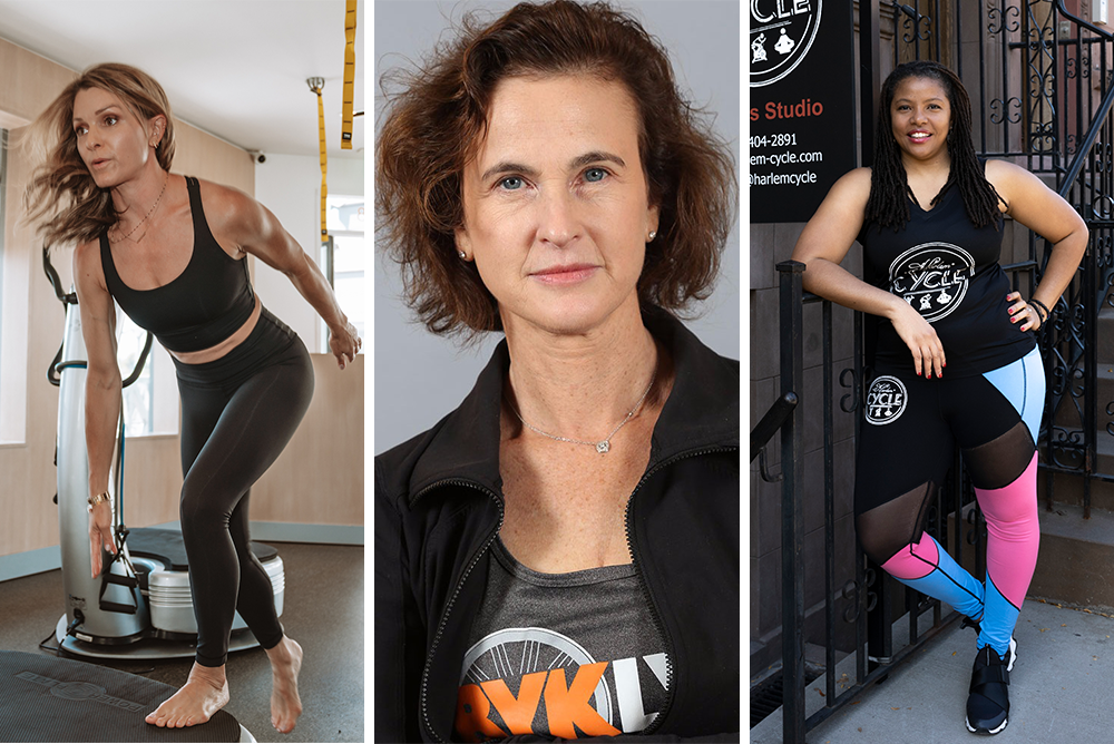 Women gym owners and founders