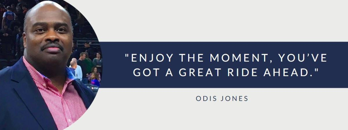 Odis Jones Explains Why It Is So Important To Be In Control Of Your Own Destiny
