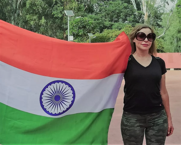 Woman Behind-Voice for India