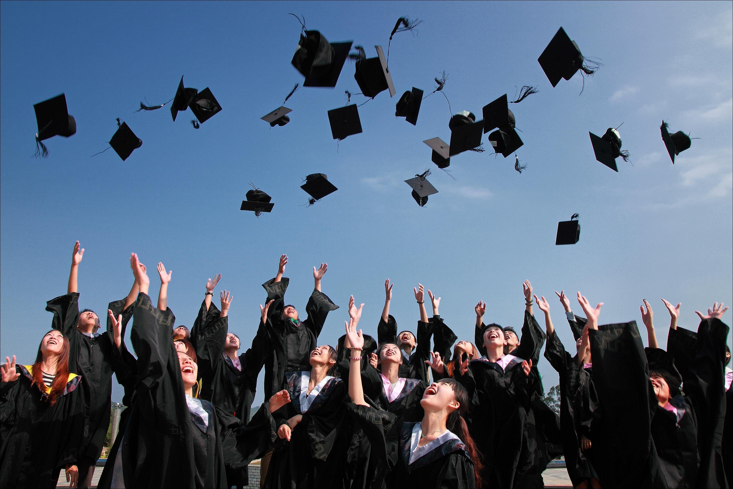 Graduation leaves more than hats in the air. Navigating the future is more complex for recent college graduates.