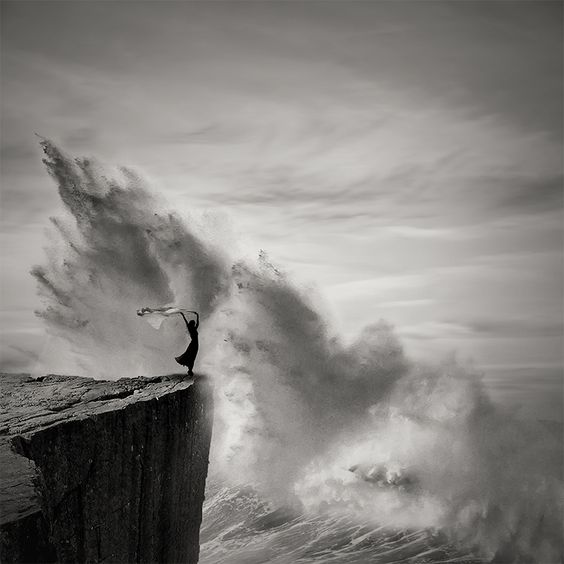 Photo Credit: 'Brave the Storm' creation by the artist Agniribe Mada.