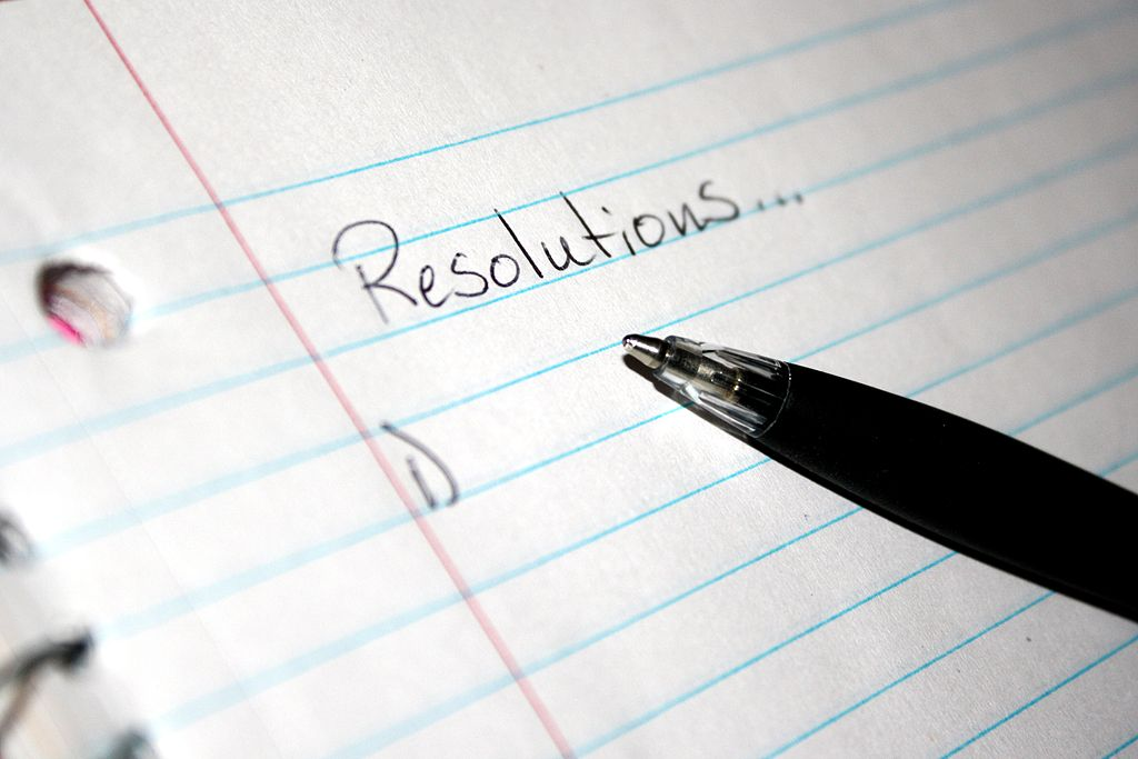 Top New Year's Resolutions by Forth With Life via Flickr