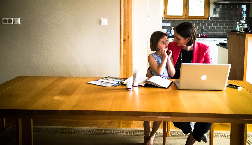How to Work From Home Productively, even around a family...