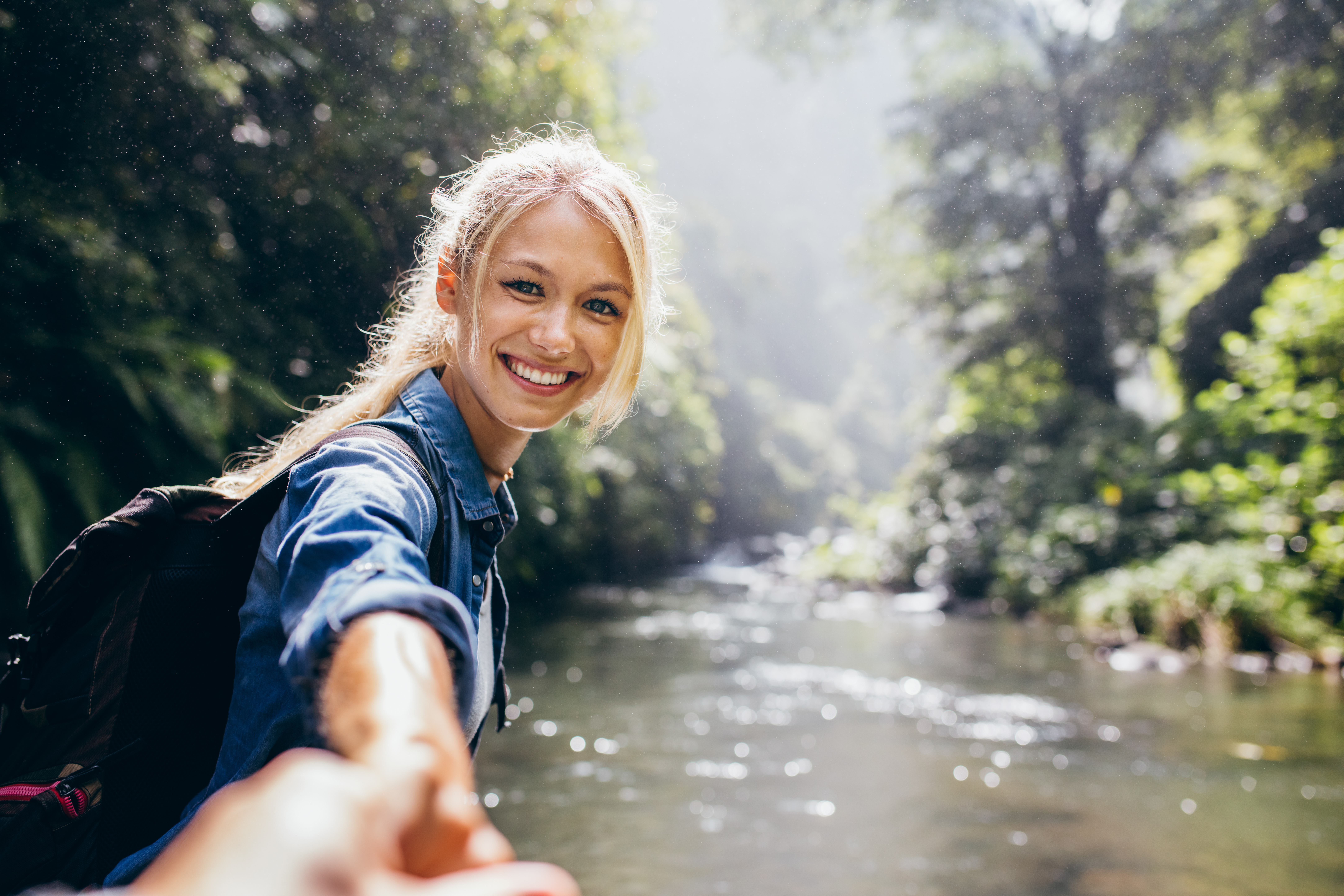 Getting outside has great mental health benefits