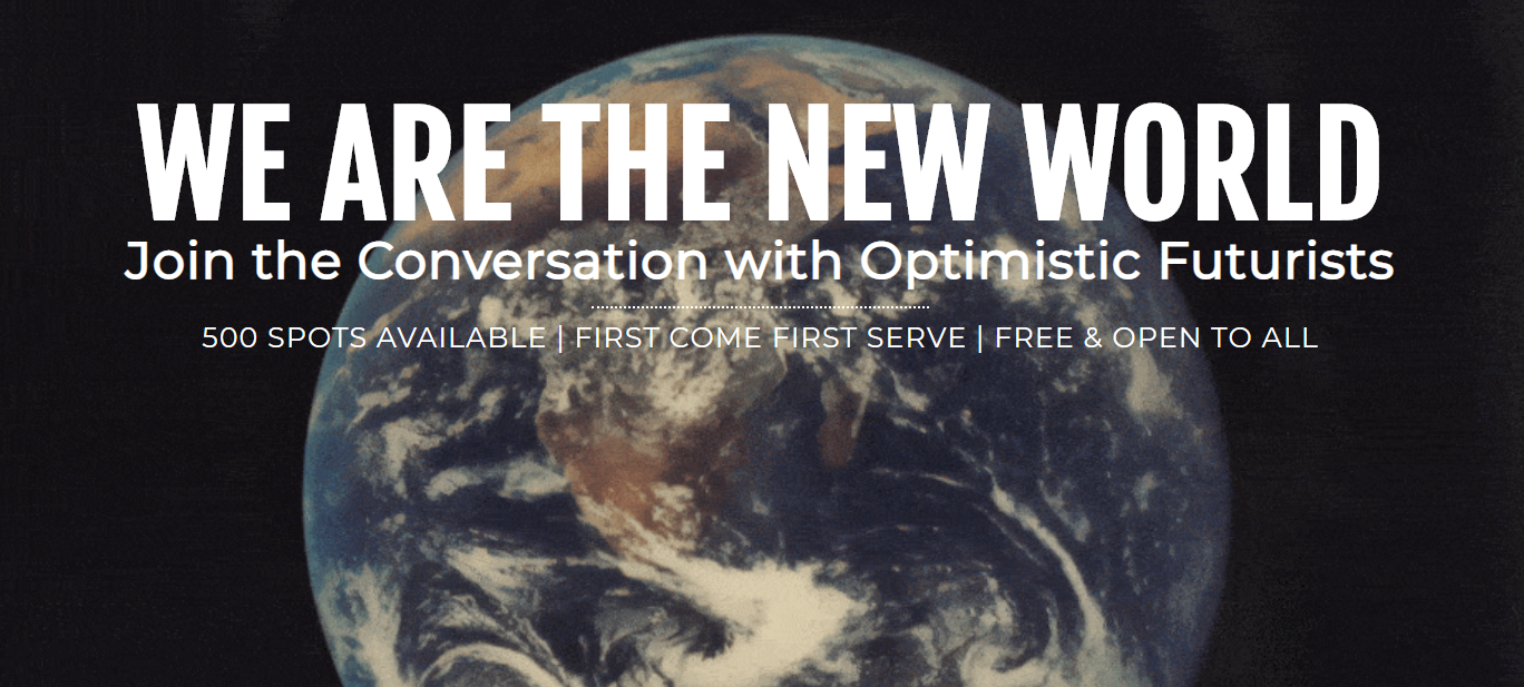 WE ARE THE NEW WORLD GLOBAL EVENT