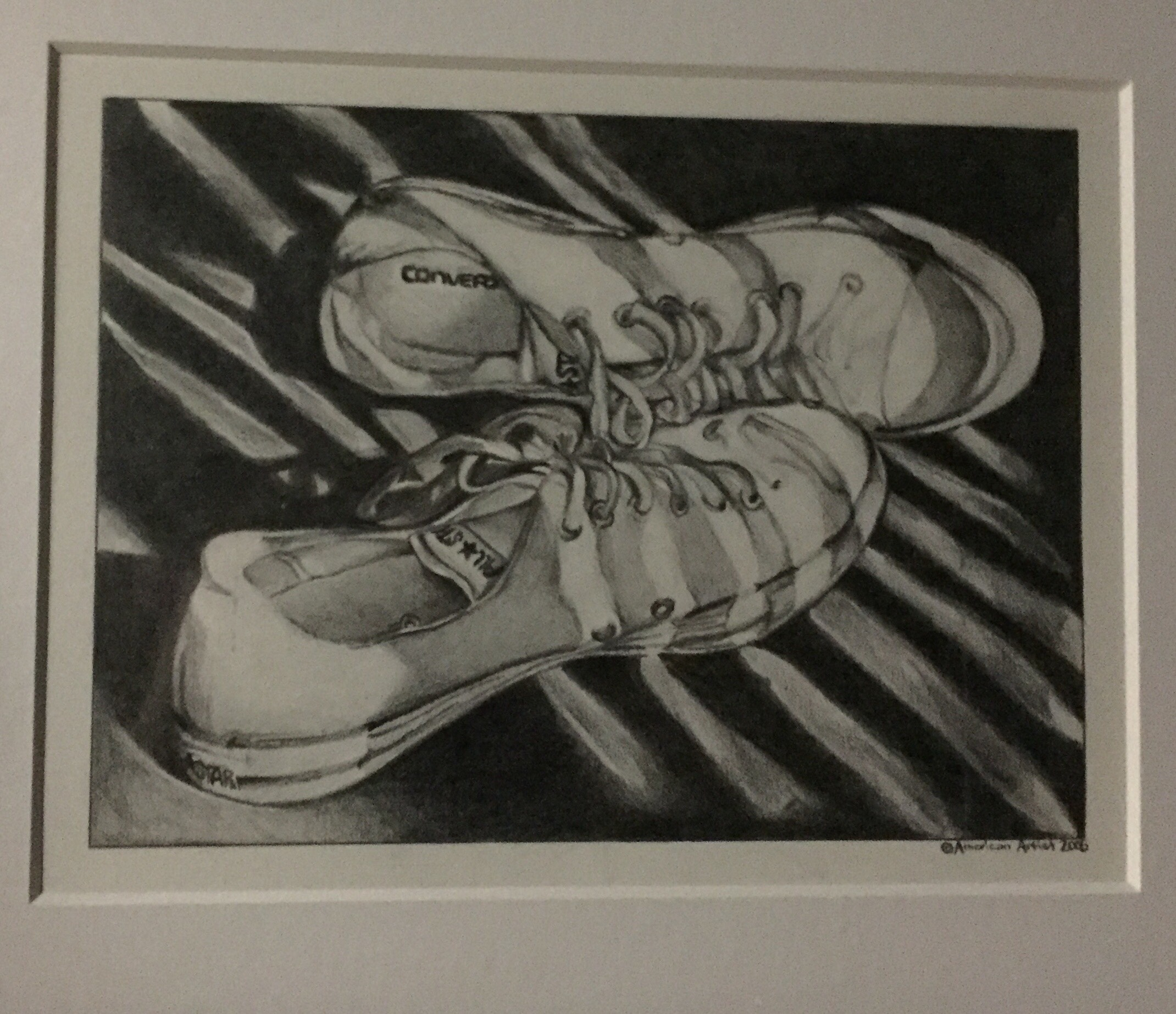 """""""I'll draw them because I can't wear them"""" - Graphite Rendering by Megan Norton"""
