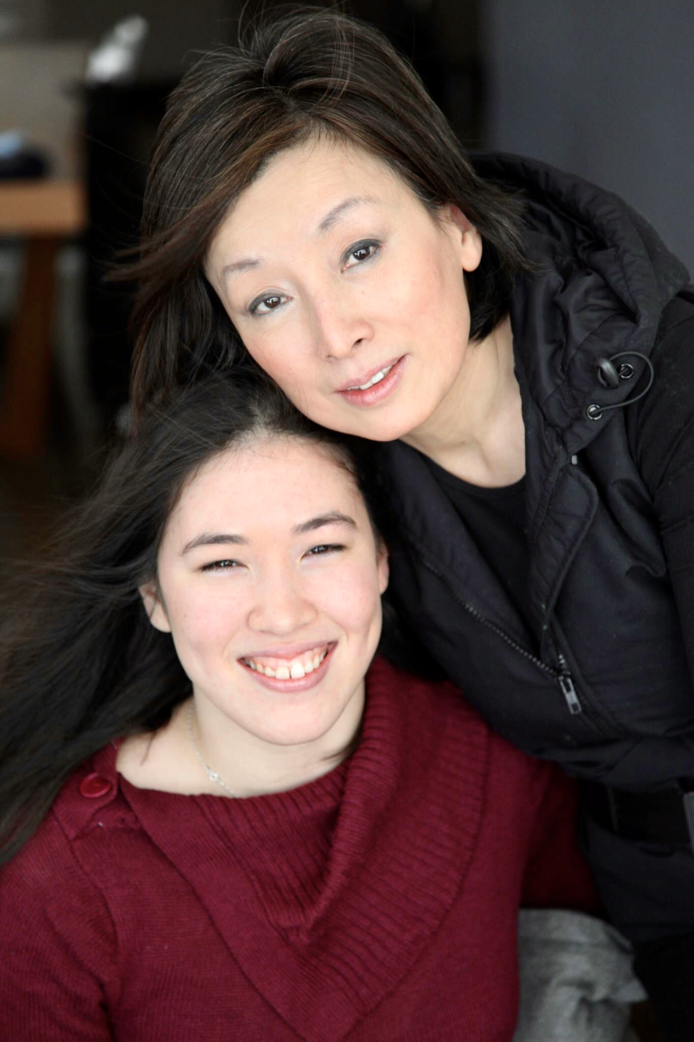 Author Xian Horn and Her Mother