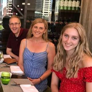 Family birthday celebrations one week before my then 16 year-old daughter's cancer diagnosis.