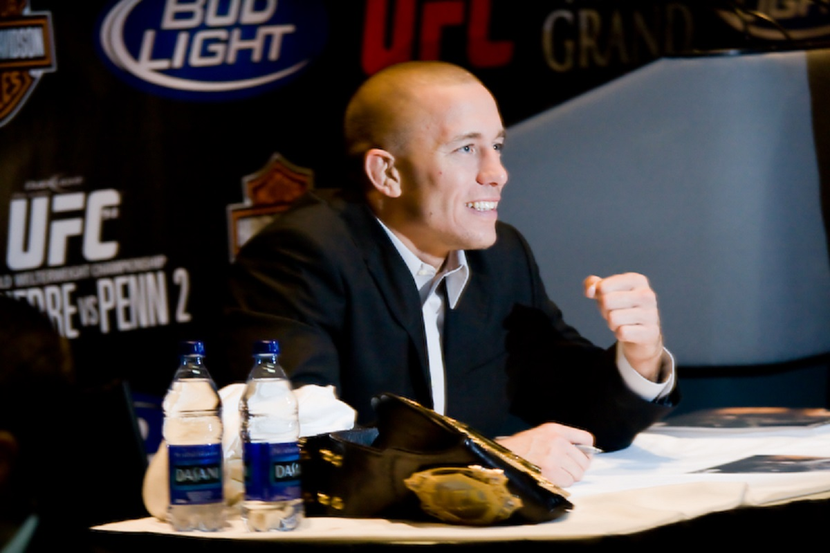 Georges St-Pierre Mental Toughness Quotes