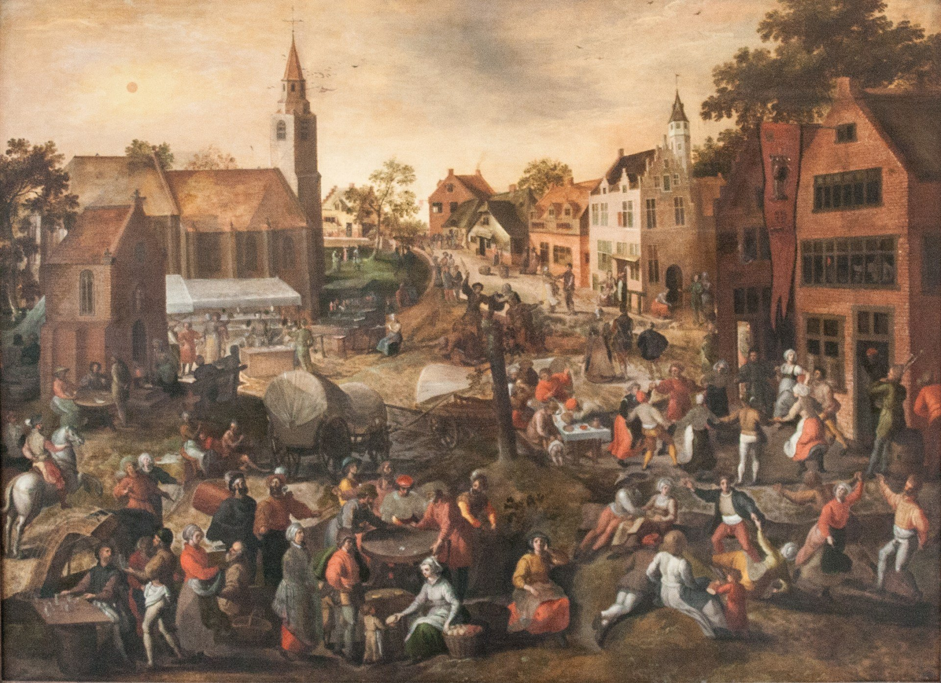 Painting of a Festival -- Justin Layton